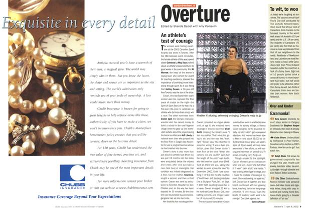 Article Preview: Overture, April 2002 | Maclean's