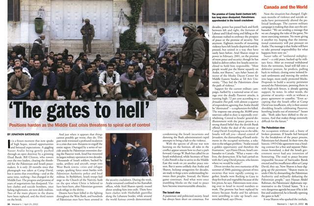 Article Preview: 'The gates to hell', April 2002 | Maclean's