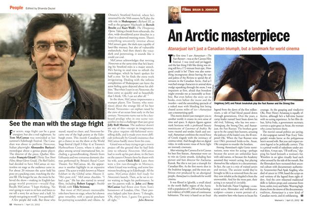Article Preview: An Arctic masterpiece, April 2002 | Maclean's