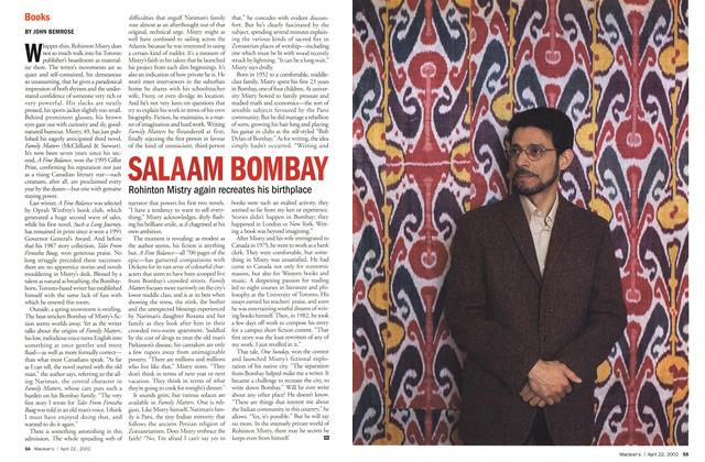 Article Preview: SALAAM BOMBAY, April 2002 | Maclean's
