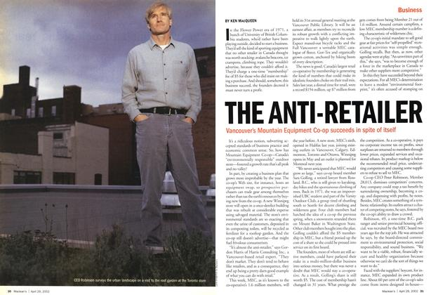 Article Preview: THE ANTI-RETAILER, April 2002 | Maclean's