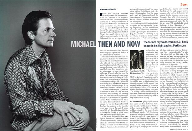 Article Preview: MICHAEL THEN AND NOW, April 2002 | Maclean's