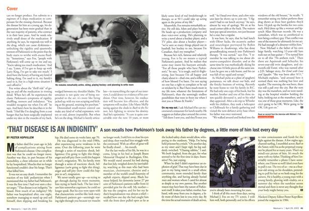 Article Preview: 'THAT DISEASE IS AN INDIGNITY', April 2002 | Maclean's