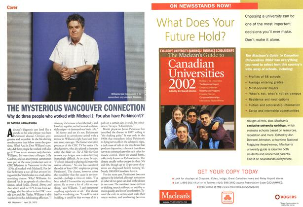 Article Preview: THE MYSTERIOUS VANCOUVER CONNECTION, April 2002 | Maclean's