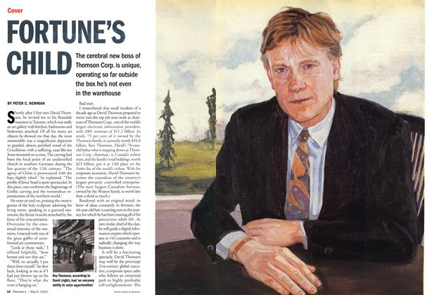 Article Preview: FORTUNE'S CHILD, May 2002 | Maclean's