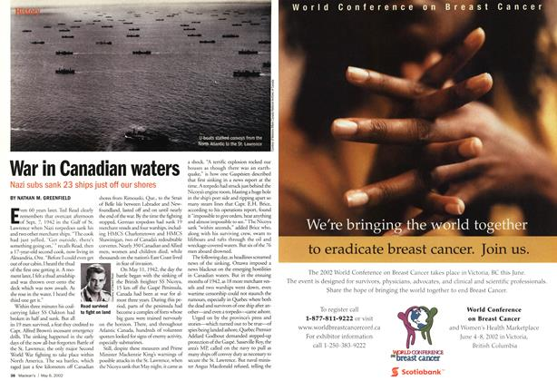 Article Preview: War in Canadian waters, May 2002 | Maclean's