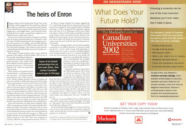 Article Preview: The heirs of Enron, May 2002 | Maclean's