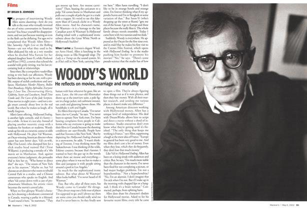 Article Preview: WOODY'S WORLD, May 2002 | Maclean's
