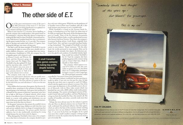 Article Preview: The other side of E. T., May 2002 | Maclean's