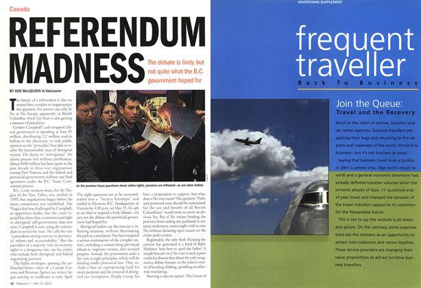 Article Preview: REFERENDUM MADNESS, May 2002 | Maclean's