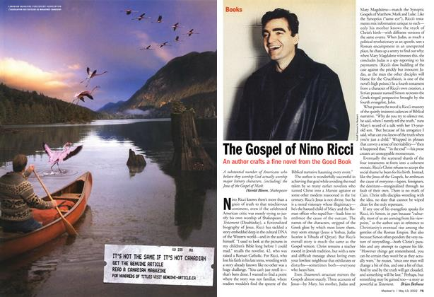 Article Preview: The Gospel of Nino Ricci, May 2002 | Maclean's