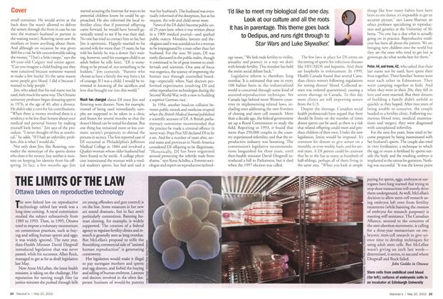 Article Preview: THE LIMITS OF THE LAW, May 2002 | Maclean's