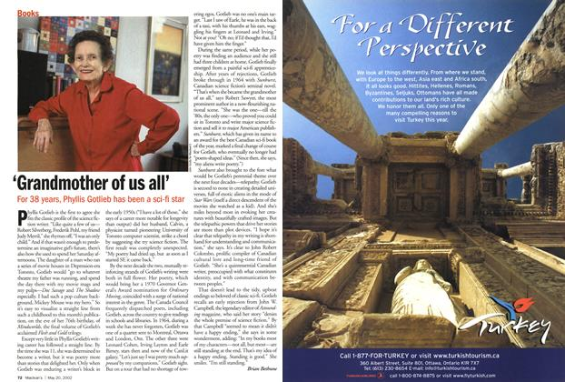 Article Preview: 'Grandmother of us all', May 2002 | Maclean's