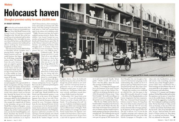 Article Preview: Holocaust haven, May 2002 | Maclean's