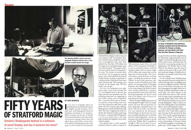 Article Preview: FIFTY YEARS OF STRATFORD MAGIC, May 2002 | Maclean's