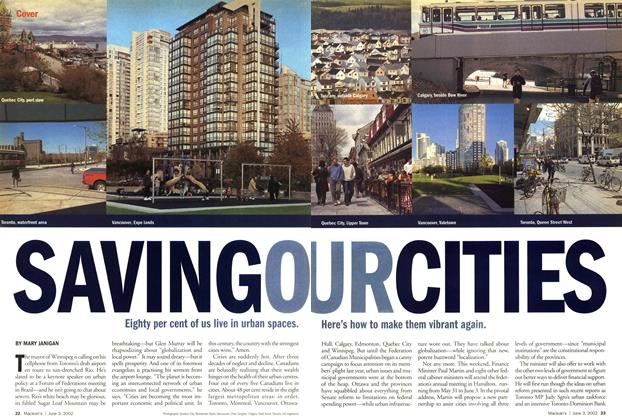 Article Preview: SAVING OUR CITIES, June 2002 | Maclean's