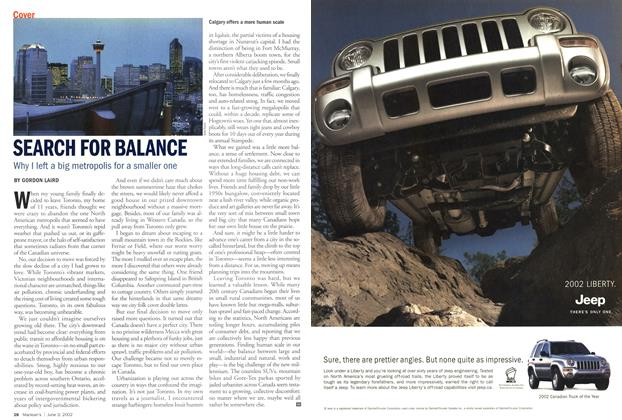 Article Preview: SEARCH FOR BALANCE, June 2002 | Maclean's