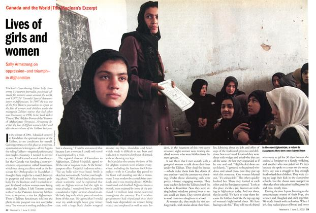 Article Preview: Lives of girls and women, June 2002 | Maclean's