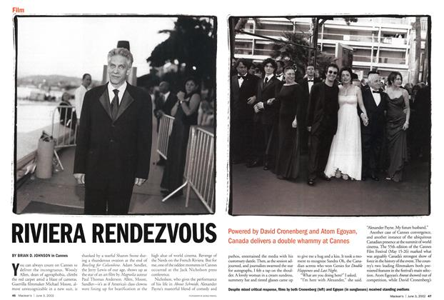 Article Preview: RIVIERA RENDEZVOUS, June 2002 | Maclean's