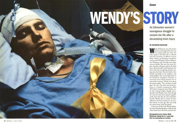 Article Preview: WENDY'S STORY, June 2002 | Maclean's