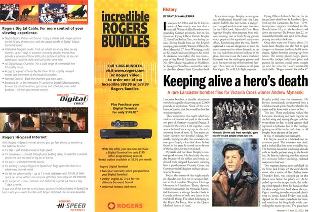 Article Preview: Keeping alive a hero's death, June 2002 | Maclean's