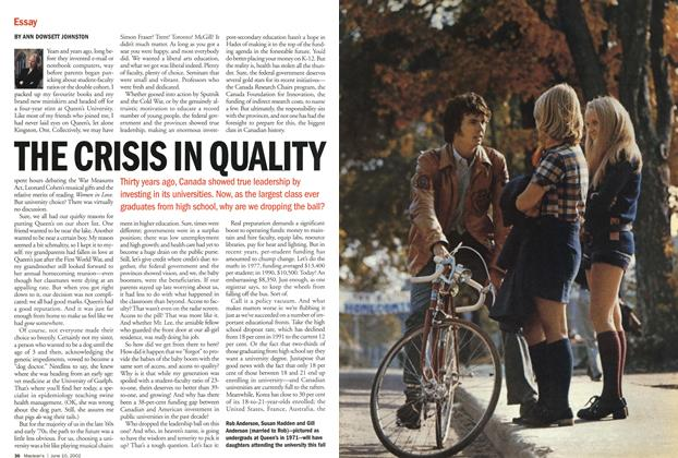 Article Preview: THE CRISIS IN QUALITY, June 2002 | Maclean's