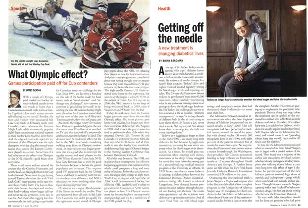 Article Preview: Getting off the needle, June 2002 | Maclean's