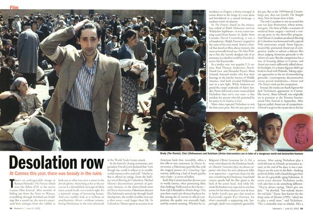 Article Preview: Desolation row, June 2002 | Maclean's