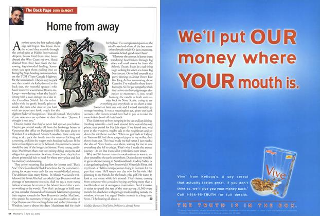 Article Preview: Home from away, June 2002 | Maclean's