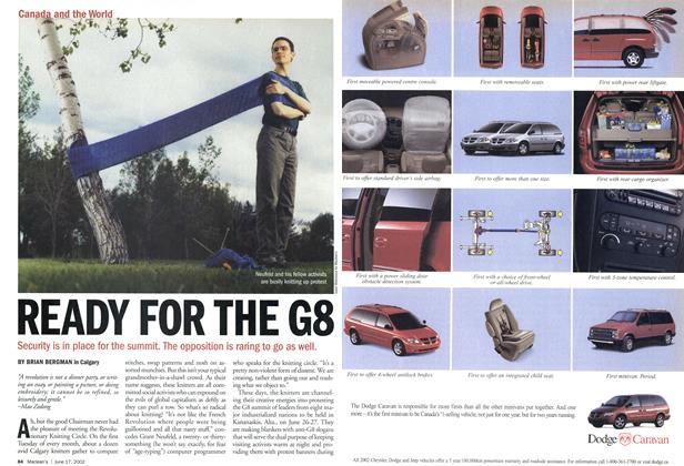 Article Preview: READY FOR THE G8, June 2002 | Maclean's