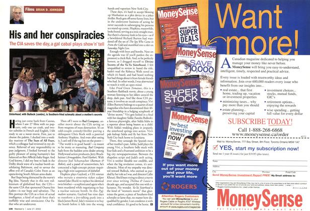 Article Preview: His and her conspiracies, June 2002 | Maclean's