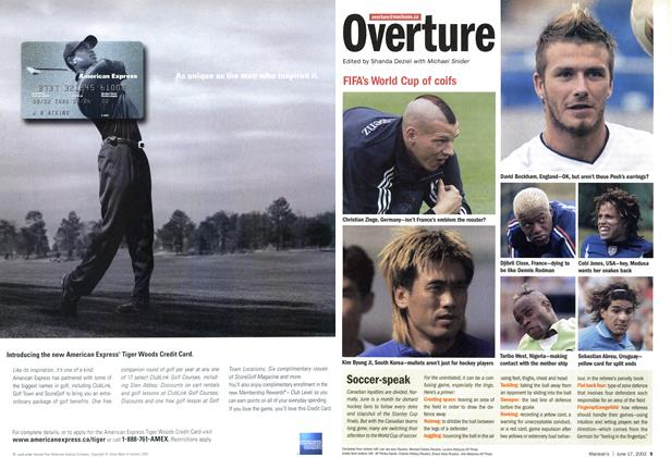 Article Preview: FIFA's World Cup of coifs, June 2002 | Maclean's