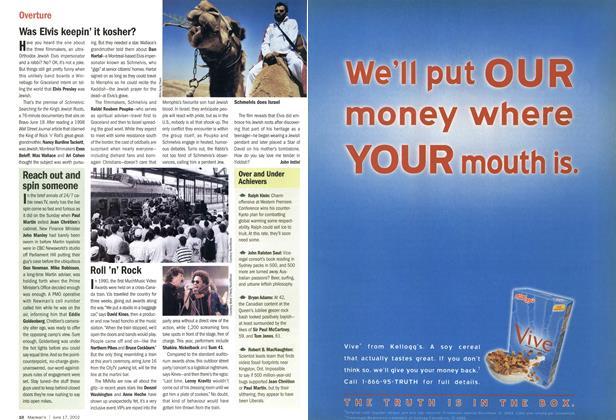 Article Preview: Was Elvis keepin' it kosher?, June 2002 | Maclean's