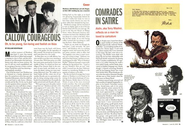 Article Preview: CALLOW, COURAGEOUS, June 2002 | Maclean's