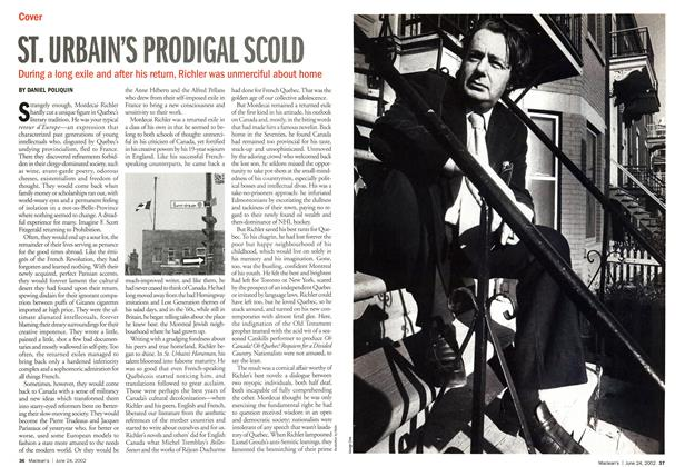 Article Preview: ST. URBAIN'S PRODIGAL SCOLD, June 2002 | Maclean's