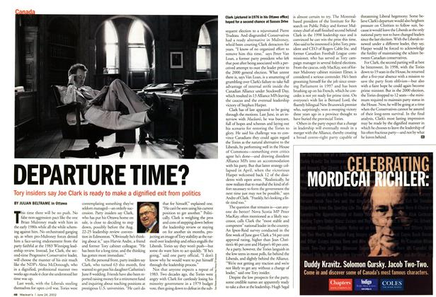 Article Preview: DEPARTURE TIME?, June 2002 | Maclean's