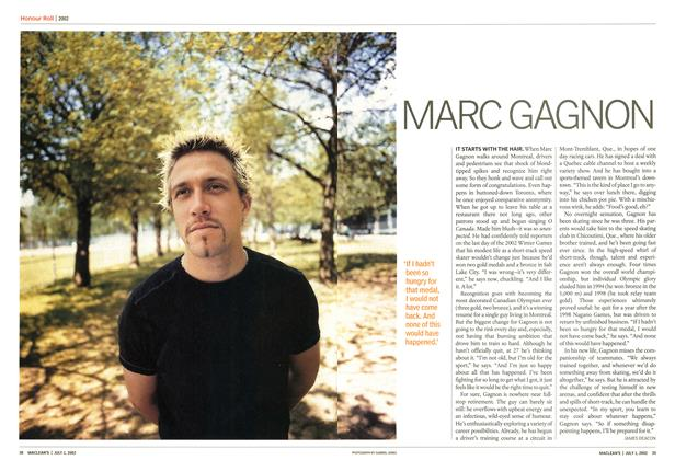 Article Preview: MARC GAGNON, July 2002 | Maclean's