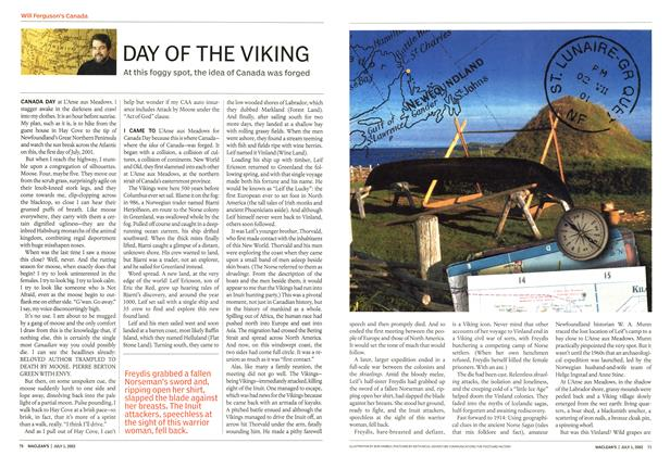 Article Preview: DAY OF THE VIKING, July 2002 | Maclean's