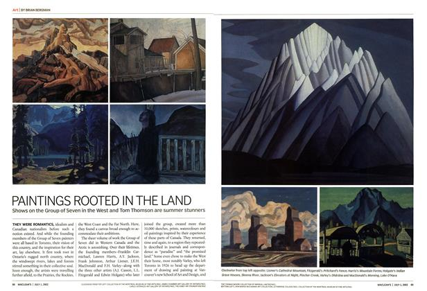Article Preview: PAINTINGS ROOTED IN THE LAND, July 2002 | Maclean's