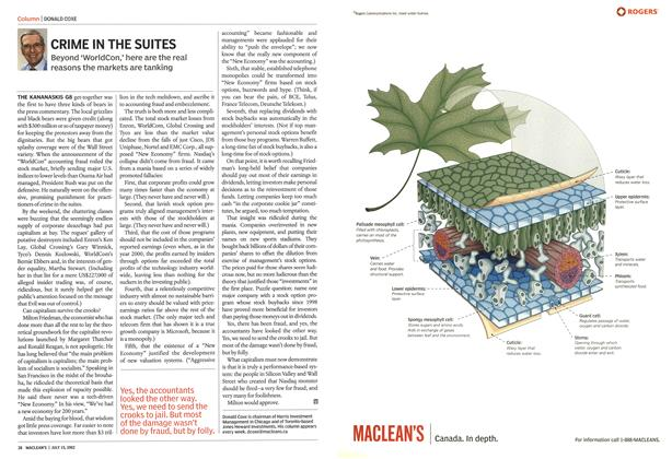 Article Preview: CRIME IN THE SUITES, July 2002 | Maclean's