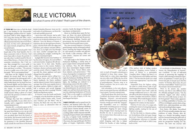 Article Preview: RULE VICTORIA, July 2002 | Maclean's