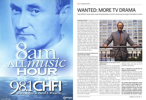 Article Preview: WANTED: MORE TV DRAMA, July 2002 | Maclean's