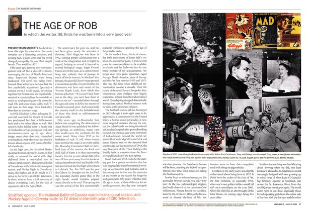 Article Preview: THE AGE OF ROB, July 2002 | Maclean's