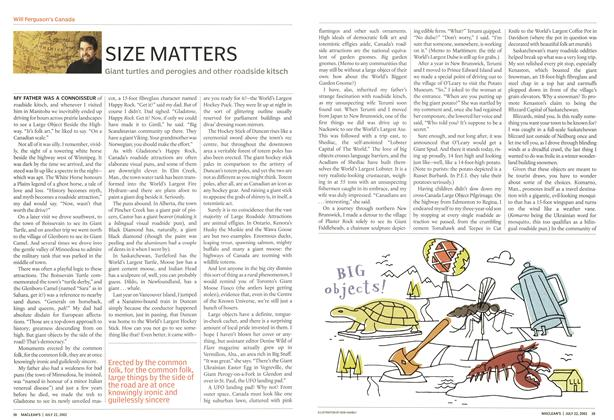 Article Preview: SIZE MATTERS, July 2002 | Maclean's