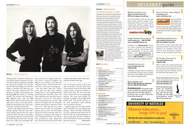 Article Preview: Music, July 2002 | Maclean's