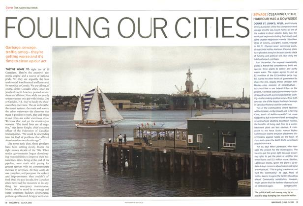 Article Preview: FOULING OUR CITIES, July 2002 | Maclean's