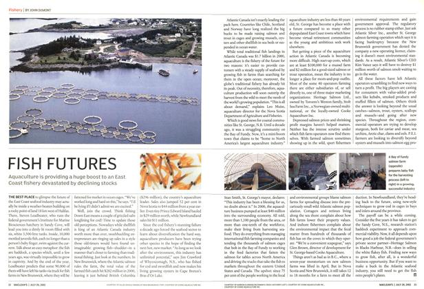 Article Preview: FISH FUTURES, July 2002 | Maclean's