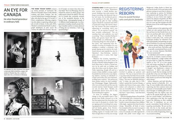Article Preview: REGISTERING REBORN, July 2002 | Maclean's