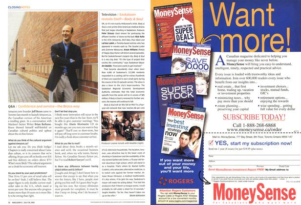 Article Preview: Television, July 2002 | Maclean's