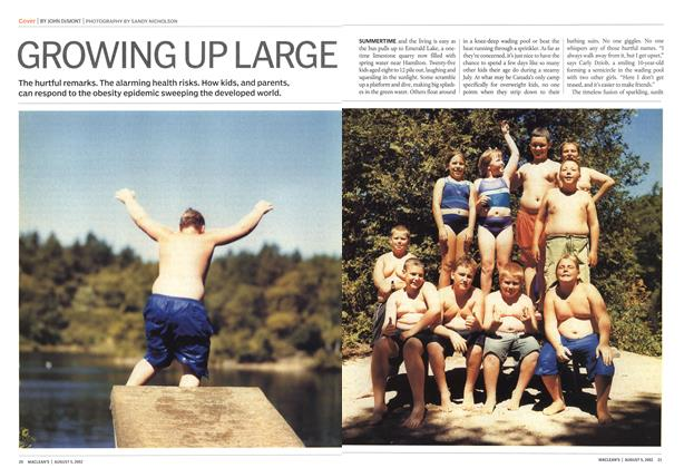Article Preview: GROWING UP LARGE, August 2002 | Maclean's